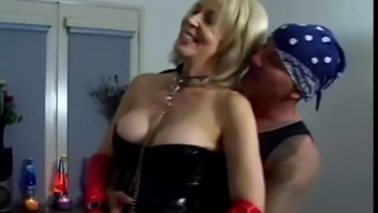 Erica Lauren - Grow older DP In Latex S88