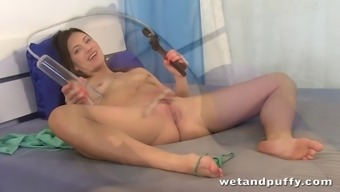 attractiveness fidgets some kind of toy in their own reduced anal