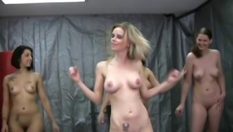 Naked Handjob Work out WF