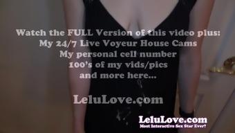 Lelu Love-CFNM POV Blowjob Cumshot On Dress