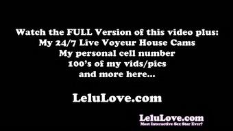 Lelu Love-Closeup Asshole Puckering Pussy Generating