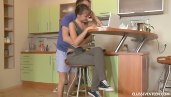 Lured by her stud Jessy D gets 100 % into driving BF's strong junk