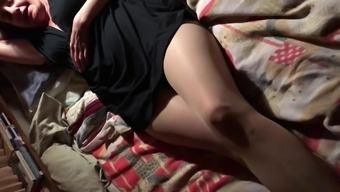 pantyhose blanketed pussy