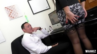 Slutty Latina visits do business in a quick skirt for that reason she will be able to fuck