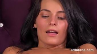 Lexidona - Touch fucking for attractive suntanned blond Czech