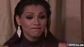 latina shemale fucked by an irritated boyfriends very difficult cock