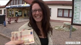 Big tits german prostitute gets fucked for the money