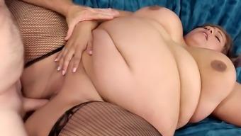 Attractive fat love Veruca Dear presenting and utilizing manhood
