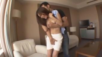 Incredible Japanese whore Yuna Shiina in Amazing POV, Big Tits JAV movie