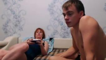 real mom-son webcam 4(four)