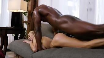 Intimate sexual fantasy with a outstanding stud for Natalia Starr