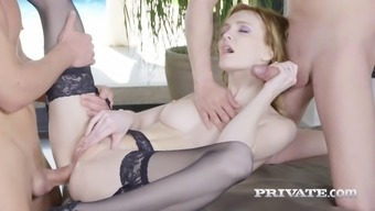 twisted nasty person in panties treasures great twice penetration appointment