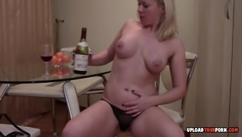 Grow older wifey gets perverted and begins entertaining wine box