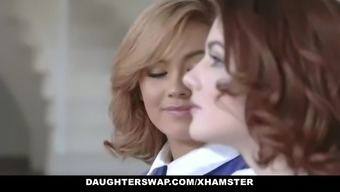 daughterswap - a pair of hot parents impart such a teenager introducing broker girl siblings