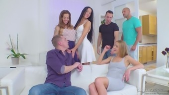 Astonishing Alexis Sparkling and her acquaintances prefer to fuck simultaneously