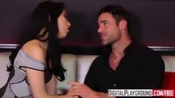 DigitalPlayground - An affair, Scene six, party turns into clubhouse orgy
