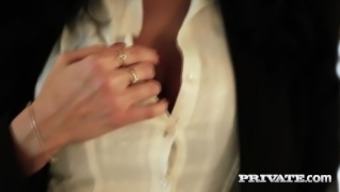 Secret.com - Ania Kinski's First Interracial Penis