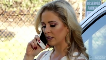 Cherie Deville is a sizzling brown utilizing a nice plunder who might adores to be fucke