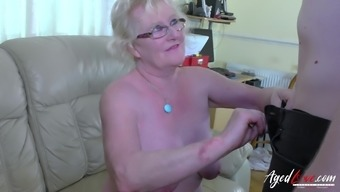 Heated grow older woman got hooked stripped and fucked very difficult by using fresh penis