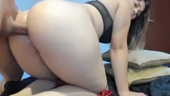 Stunning love fucked in a wonderful butt