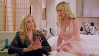 Two fascinating milfs Julia Ann and Brandy Like fuck each other like there isn't any in the new tommorow