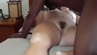 Mordant bloke fucks my cuckold wifey missionary and breeds her