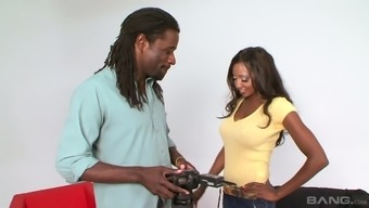 Fantastic MILF Stone Jackson gives an amazing blowjob to really robust BBC