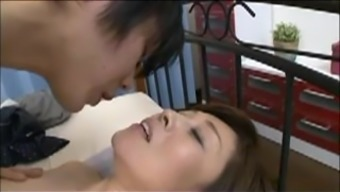 Japanese Mama blackmailed by Move Teenager six(6)
