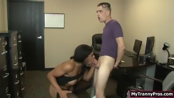 Chunk man discovered on closed-circuit television and fucked supervisor ts morena blacks restricted booty