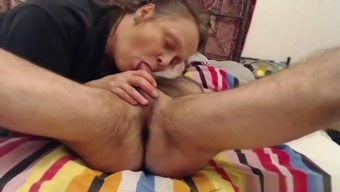 Granny knows how to make her husband happy in bed