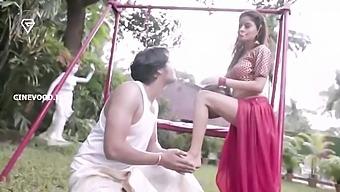 Bhabi devar garden sex