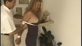 Jeanne Hollywood Basone - Hard Bondage Scene 1