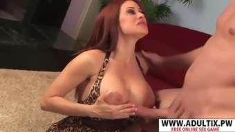Super stepmom sheila marie gets nailed well hot step son