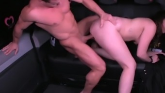 LETSDOEIT - Valentine's Day Cheating GF Fucks Taxi Driver