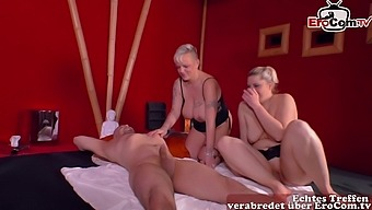 German homemade swinger couple party