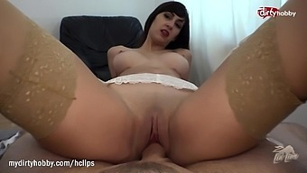 MyDirtyHobby - Horny busty niece helps her uncle get rid of his blue balls