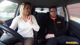 Nikky Dream And Ryan Ryder In A Czech Milf Gets Fucked Through Her Ripped Tights By Her Driving Instuctor