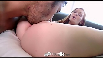 Super flexible girl Alex Tanner grabs her feet as she is fucked mish