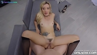 Horny Sophia Grace and Kristof Cale spend time for a rough fuck