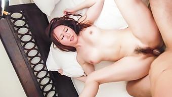 Japanese milf,Ruka Ichinose, insane bedroom porn