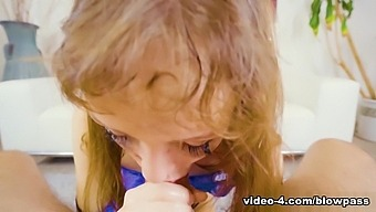 Aliya Brynn & Mick Blue in Aliya's Agile Throat