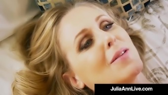 Heated Action Mother Julia Ann Gets Nude & Lively by using Move Teenager!