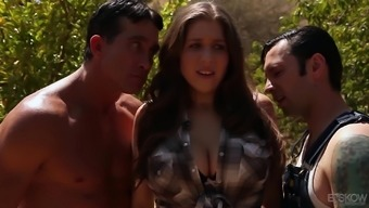 Alex Possibility is basically a curvy brunette seeking a couple of challenging dicks