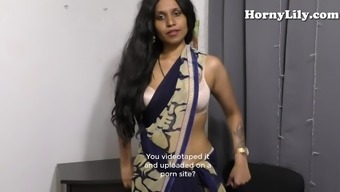 Indian Mother Bathroom Slave Youngster (The english language subs) Tamil POV