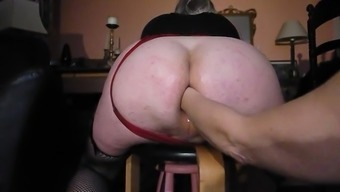 Large Butt fists fuck and troubled on via the Girlfriend