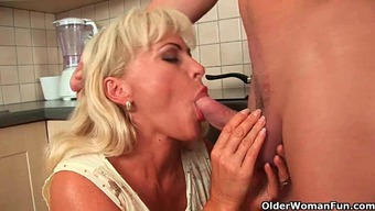 Sultry frisbee mom Darina compilation
