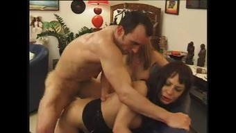 Conversational french Age n53 2(two) blonde and black anal passage mama threesome