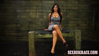 Busty milf Alexa Pierce tied up and disgraced like a trudge