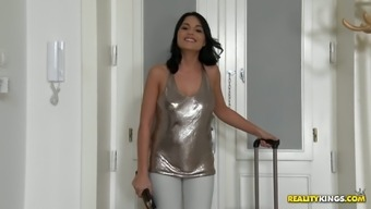 Lovely missy Aida Adorable stinks tilt and gets fucked like there aren't any later