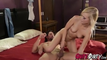 Sizzling blonde Alex Gray getting drilled by stepdads very difficult penis